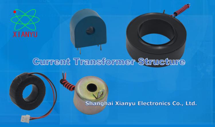 Construction of Toroidal Current Transformer