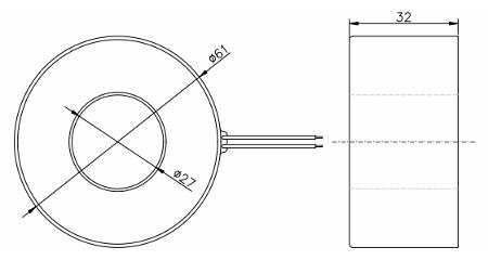 DT400-250B, Electrical Instrument Current Transformer