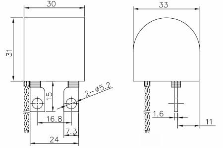 DMB60-25E, Anti-magnetic Mini Current Transformer