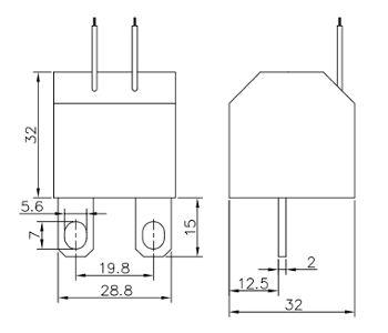 MEB10-15A, Three Phase Mini Current Transformer