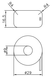 MS100-10A, Ring Type Micro Current Transformer
