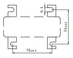 Rectangular Split Current Transformer