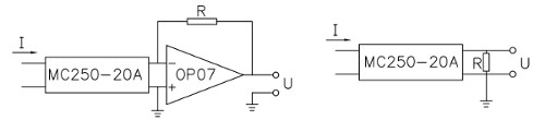 Big Hole 2-Pin Current Transformer
