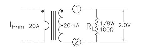 MC50-10A, 3-Pin Mini Current Transformer